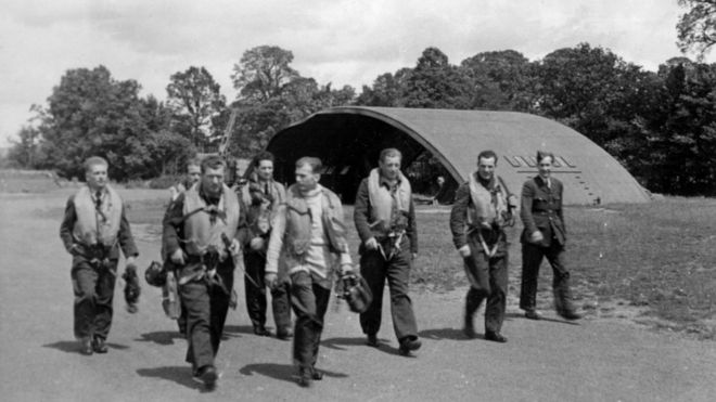 The Eagle Owls Polish squadron who defended Exeter - BBC News