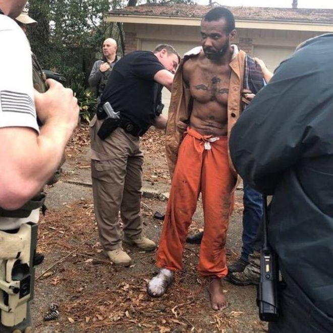Cedric Marks: MMA fighter suspected of murder found in
