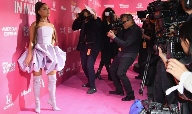 Ariana Grande Thank U Next Singer Breaks Uk Chart Records Bbc News