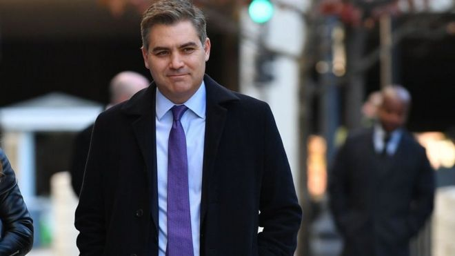 Jim Acosta to return to WH