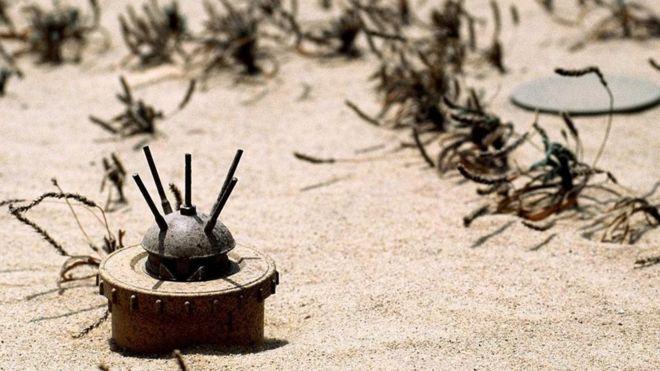 地雷:你看不到的致命危险