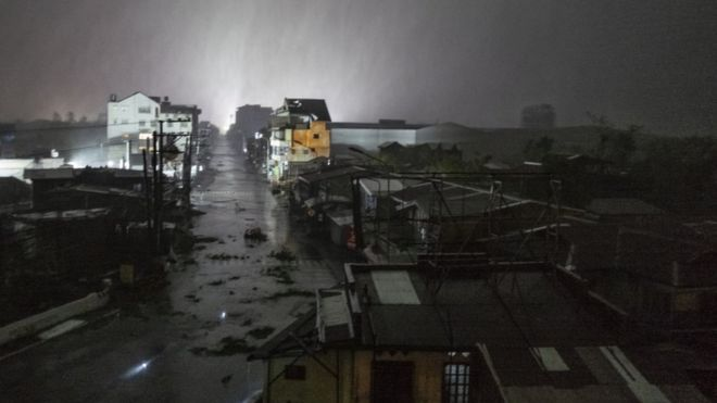 عظیمترین توفان سال فیلیپین را در هم کوبید