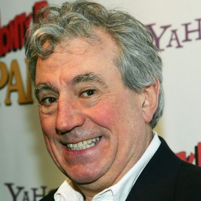 Terry Jones - geëmbed van bbc.com