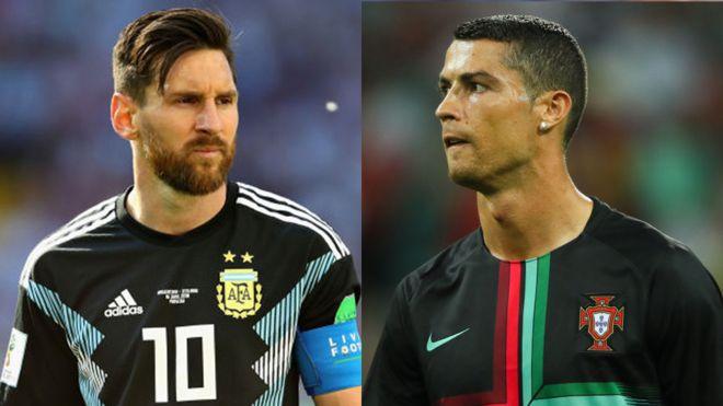 Messi vs Cristiano Ronaldo: las cifras que comparan sus debuts en el Mundial Rusia 2018