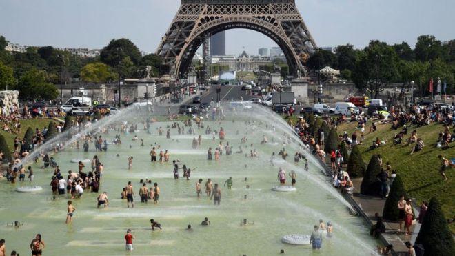 بالصور: موجة ثانية من الحر الشديد تجتاح أوروبا