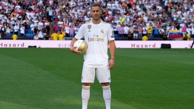 Kalli hotunan sabbin 'yan wasan Real Madrid - BBC News Hausa