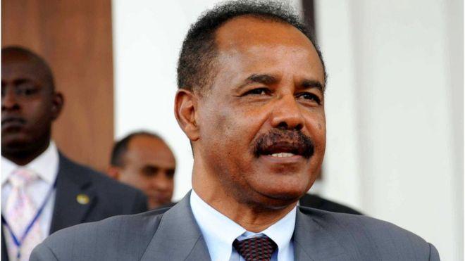 Madaxweynaha Eritrea Isayaas Afwarqii