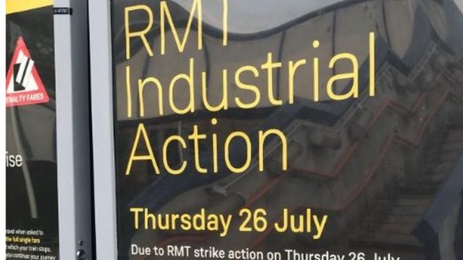 Image Caption South Western Railway Said Six In  Trains Would Run During The Action By The Rmt Union