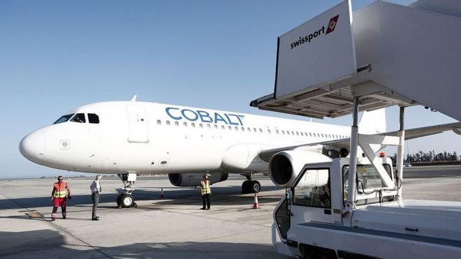 Cypriot budget airline Cobalt has suspended operations - BBC