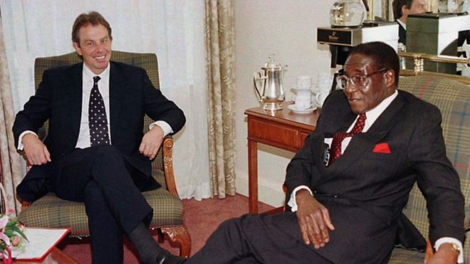 How Uk Zimbabwe Relations Went Sour Bbc News