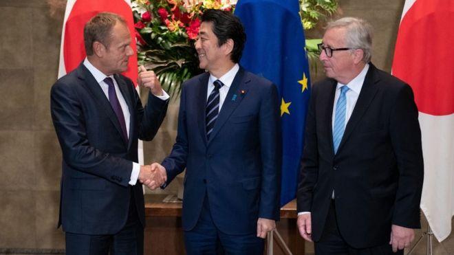 Dünyanın en büyük ticaret anlaşması: Avrupa Birliği ve Japonya arasındaki ticari sınırlar kalktı