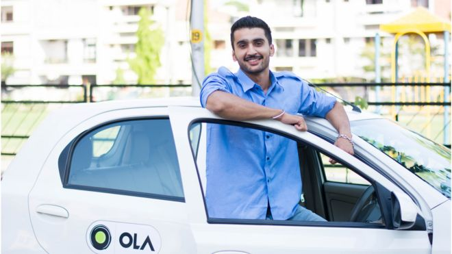Ola to challenge Uber in UK ride-hailing market - BBC News