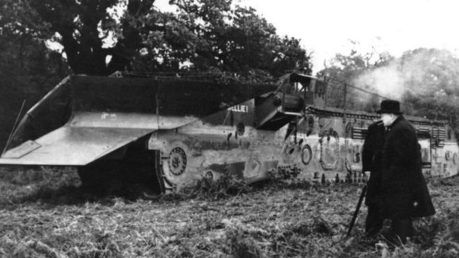 Nellie The Trench Digging Tank Revived For World War Two