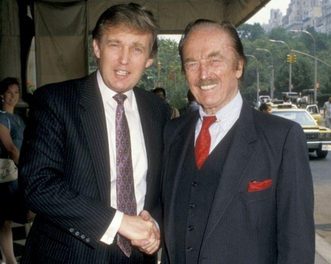 特朗普與其父親