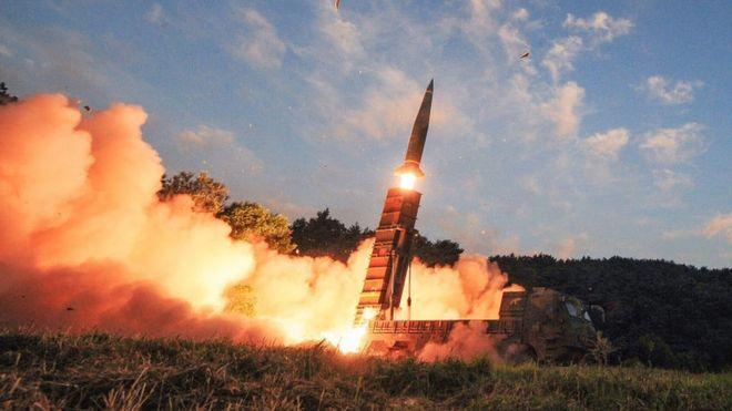 Một vụ phóng tên lửa đạn đạo của Bắc Hàn