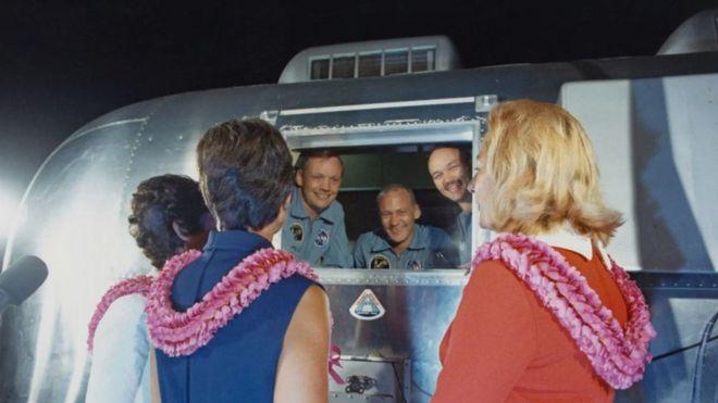 Astronautas del Apolo 11