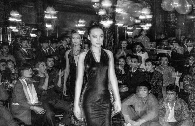 北京马克西姆(Maxim's de Paris)餐厅时装秀