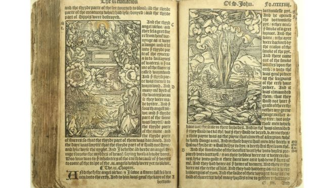 Rare English Tyndale Bible sells for £37,500 at auction