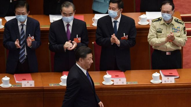 Chủ tịch Trung Quốc Tập Cận Bình họp Quốc hội ngày 28/5 ở Bắc Kinh