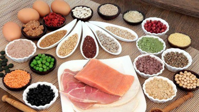 Мы как правило получаем большую часть рекомендованного дневного количества белка из своего обычного рациона