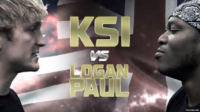Logan Paul and KSI