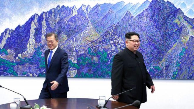 5 momentos-chave do encontro histórico entre os líderes das Coreias