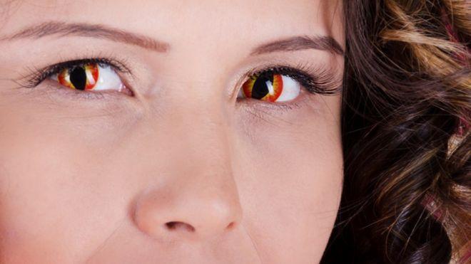 f69c106b6da Novelty contact lenses  can cause sight loss  - BBC News