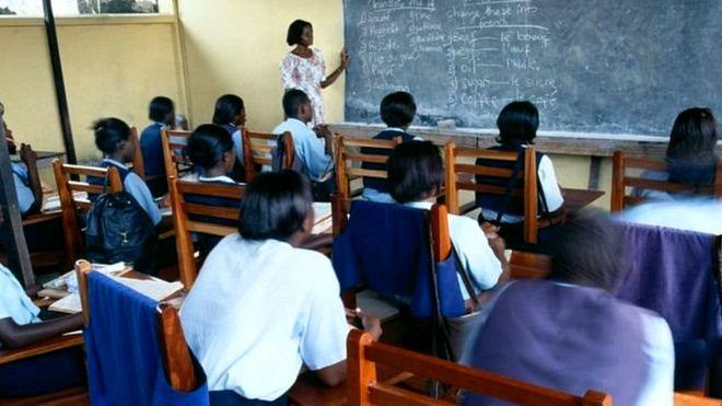 घाना की छात्राएं