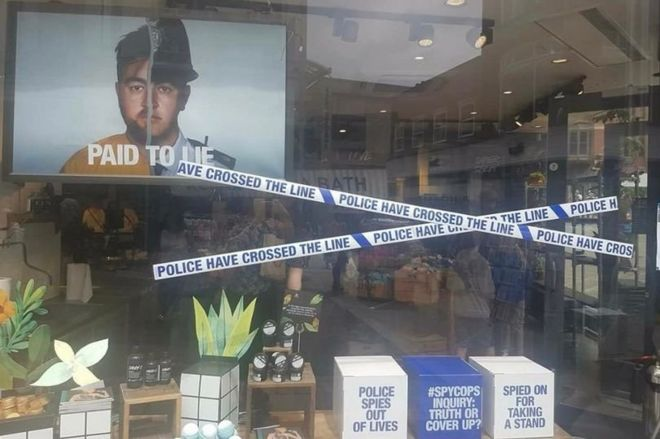 Image result for lush shop window campaign