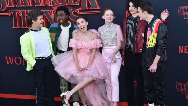 Stranger Things 3 breaks Netflix streaming record - BBC News