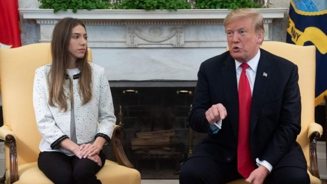 Трамп и Розалес