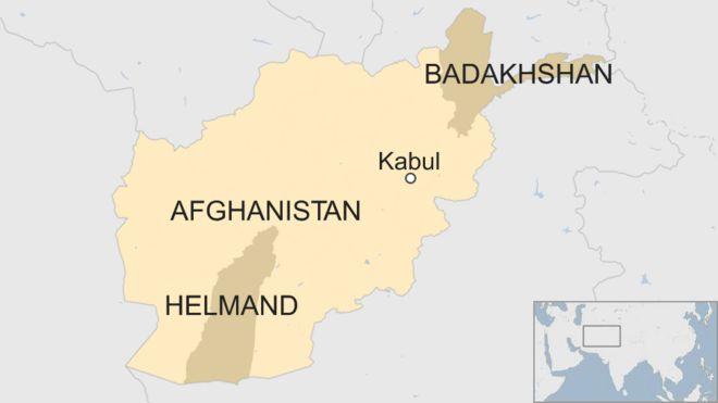 Afghan soldiers killed in US air strike