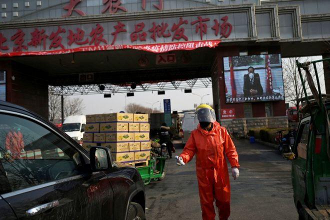 北京突然出现的第二波疫情继续蔓延,4天已累计确诊79人。