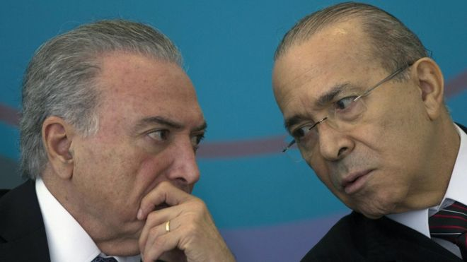 Temer and Padilha