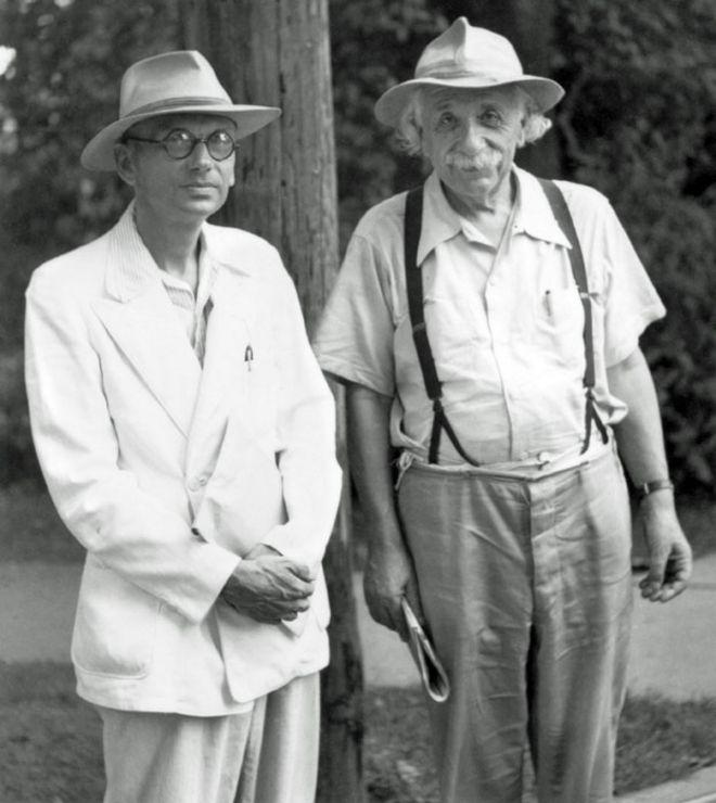 Kurt Gödel e Albert Einstein