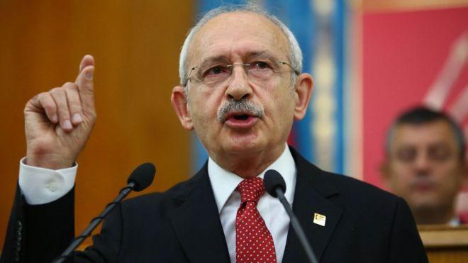 تغريم زعيم المعارضة التركية 75 ألف دولار لإدانته بتهمة التشهير بأردوغان