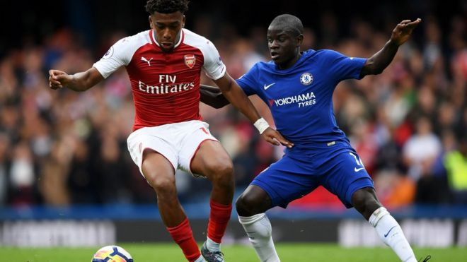 Chelsea da Arsenal sun raba maki a Premier - BBC News Hausa