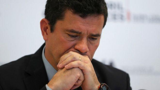 O ministro Sergio Moro