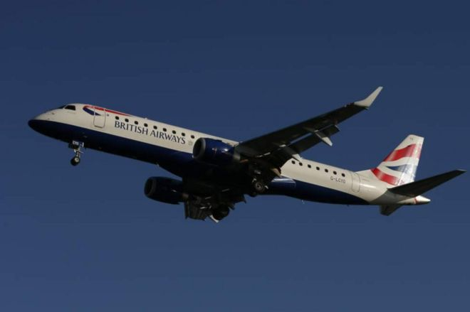 Ndege ya British Airways