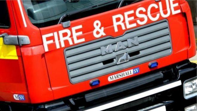 64c6a0c6bcaf0 Man dies in Enniskillen house fire - BBC News