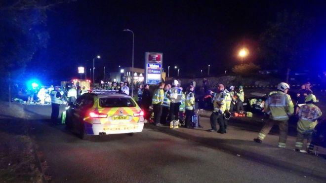 Stevenage Car Cruise Crash Police Get Extra Resources Bbc News