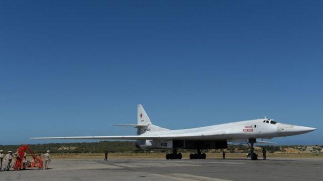 Resultado de imagen para aviones rusos a venezuela