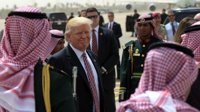 Trump visitó Arabia Saudita a mediados de mayo, la primera visita que realizó a un país extranjero tras iniciar su gobierno.
