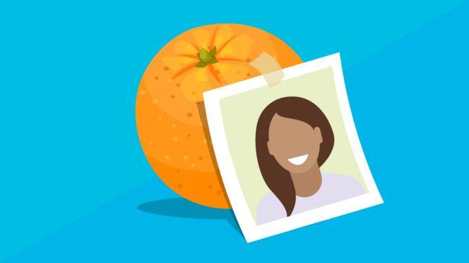 ilustração de laranja
