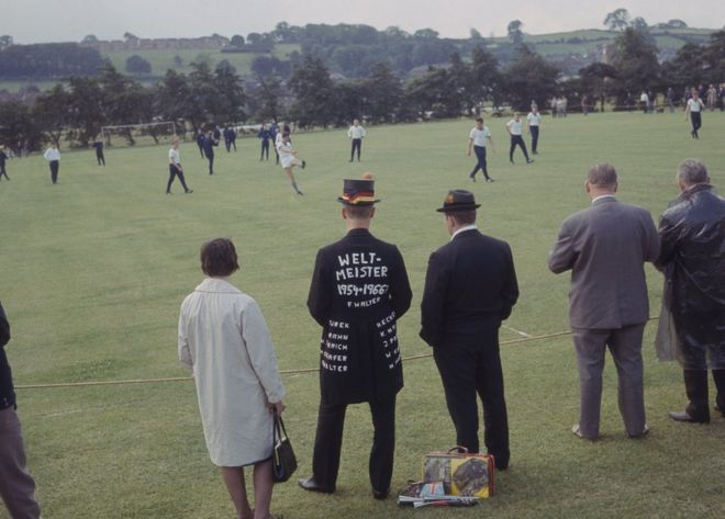 The West German Squad Training At Ashbourne Derbyshire During 1966 World Cup In