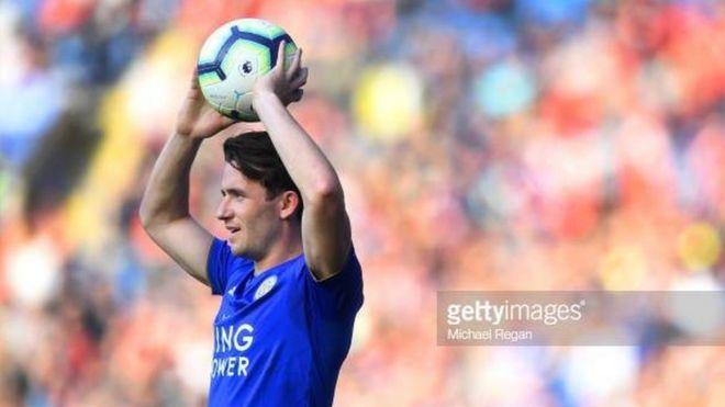 Mchezaji wa nafasi ya ulinzi wa Leicester City Ben Chilwell