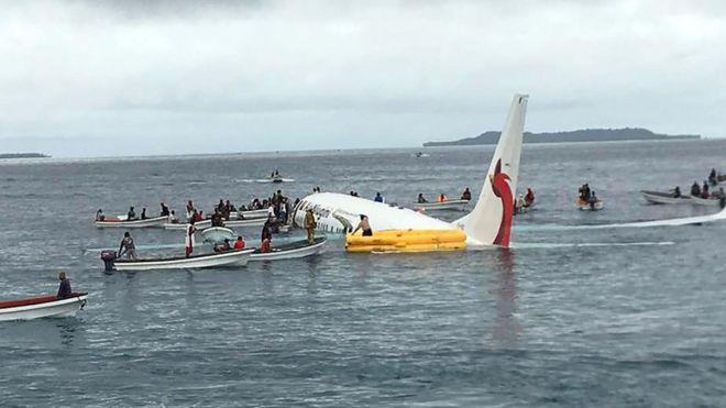 هواپیمای شرکت ایر نیوگینی از پاپوآ گینه نو