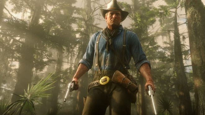 Five things to know about Red Dead Redemption 2 - BBC News