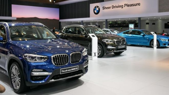 BMW, Daimler and Volkswagen face EU diesel emissions probe - BBC News