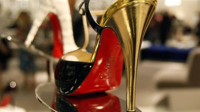 a792af907c3 Louboutin wins legal battle over red soles - BBC News